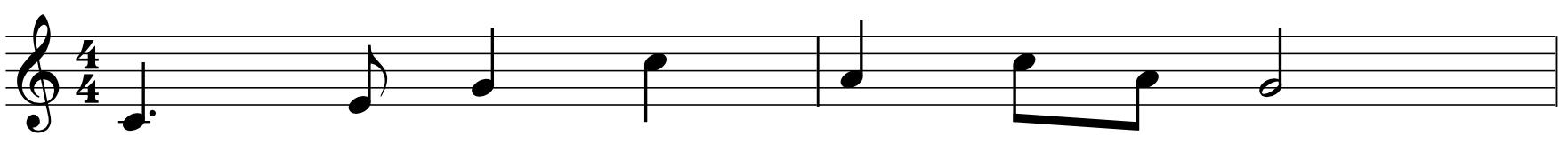 """Noter Til """"alle Fugler Små De Er"""" (rytme Og Melodi)"""