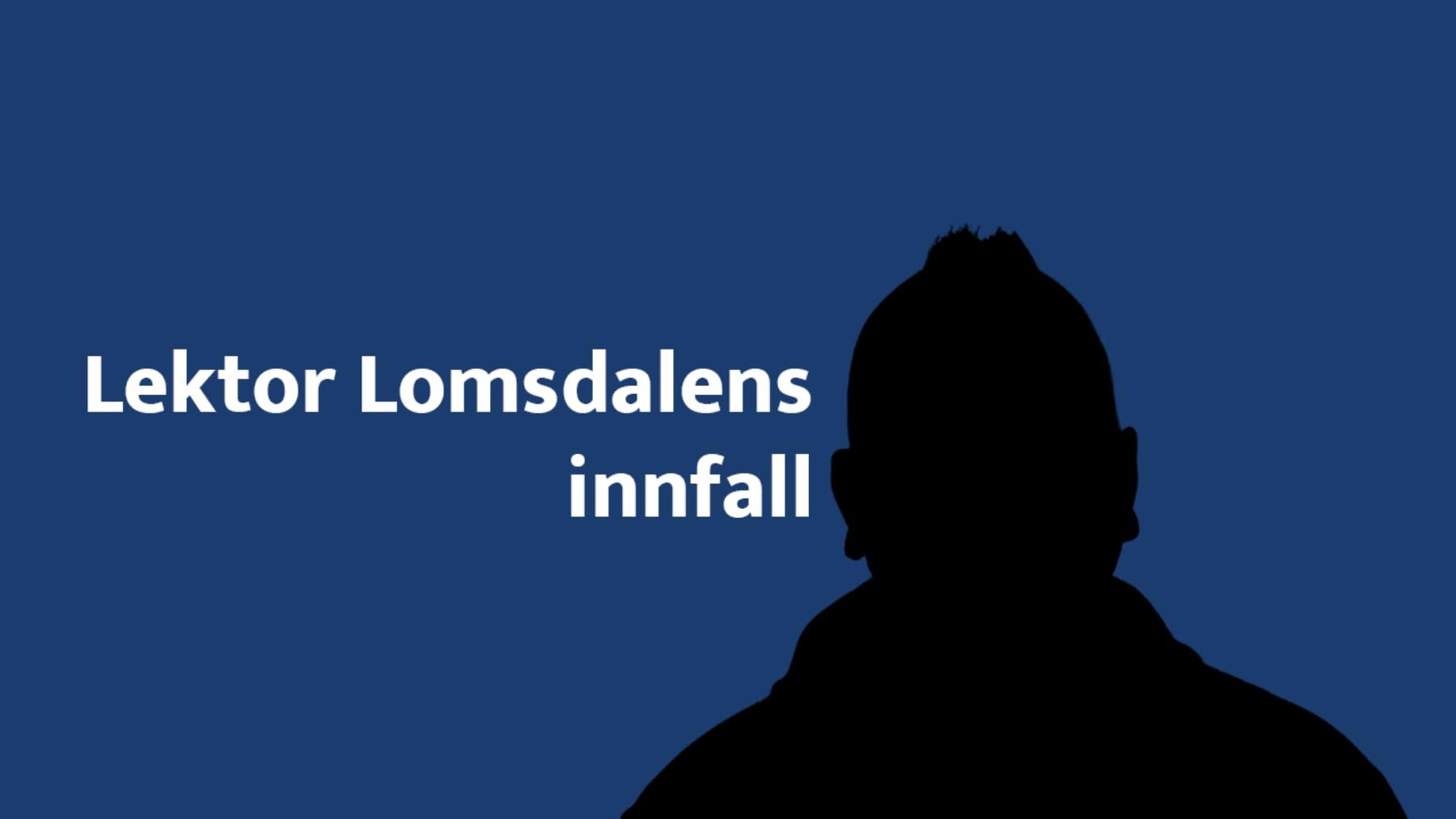 Logo for podkasten Lektor Lomsdalens innfall