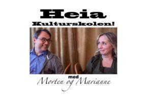 Morten Og Marianne Fra Podkasten Heia Kulturskolen